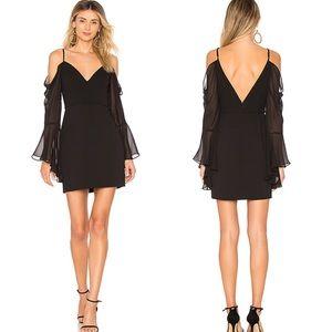 Bcbgmaxazria Black pamella Dress NWT 0